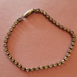 Rhinestone vintage bracelet